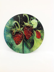 Louisiana Strawberries Cutting Board
