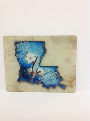 Louisiana Cotton Cutting Board
