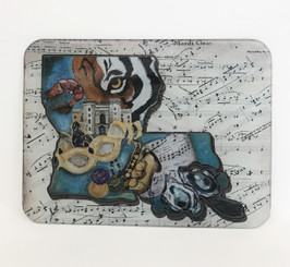 State Capitol Collage Cutting Board