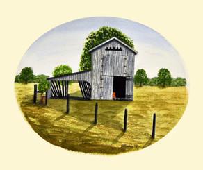 Barn Watercolor 9x11 (click photo)