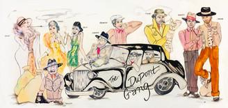 "Dupont Gang  11.25""x24"""