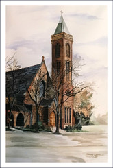 ST. JAMES EPISCOPAL CHURCH GICLEE PRINT LIMITED EDITION OF 150