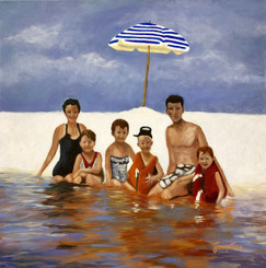 PIRARO_BEACH FAMILY 20X20
