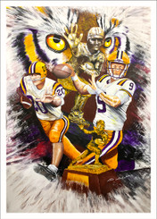 "JACK JAUBERT "" THE BEST OF THE BEST""CANNON AND BURROW 18x26"