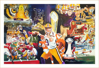 "Jack Jaubert ""Perfect Season"" 22x34"