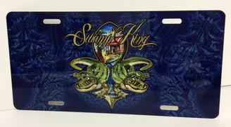 Swamp King License Plate