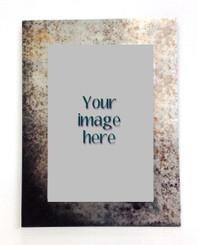 Custom Image on Custom Backplate Metal  8x12/12x16