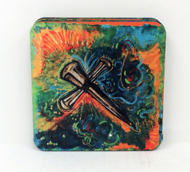 John 3:16 Corkback Coaster Set