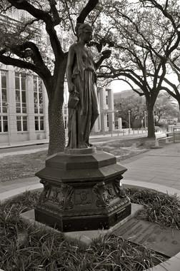 Garden Statue Baton Rouge Louisiana Lagniappe Frame