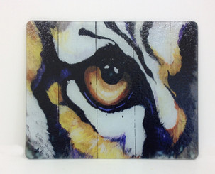 Tiger Eye Square Cutting Board