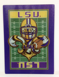 LSU Football Square Cutting Board