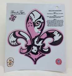 LSU Pink Tigre' Decal