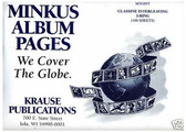 Glassine Interleaves for Minkus 3-Ring Albums