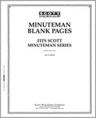 Scott Minuteman Album Blank Pages