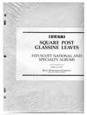Glassine Interleaves for Scott National & Specialty Albums (3 -Ring & 2-Post Binders)