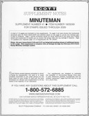 Scott Minuteman Album Supplement, 2009 #41