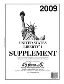 2009 H. E. Harris U.S. Plate Block Album Supplement, 2009