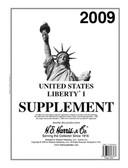 2009 H. E. Harris U.S. Plate Block Album Supplement, 2009