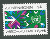 United Nations - Offices in Vienna, Scott Cat. No. 30, MNH