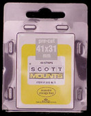 41 x 31 mm Scott Pre-Cut Mounts  (Scott 905 B/C).