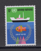 United Nations -  Offices in New York, Scott Cat. No. 254, MNH