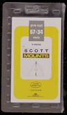 67 x 34 mm (Triangle Mount) Scott Pre-Cut Mounts (Scott 984 B/C)
