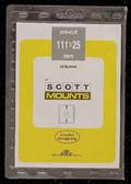111 x 25 mm Scott Pre-Cut Plate Block Mounts (985 B/C)