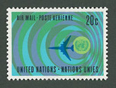 United Nations, Scott Cat. C13, MNH