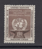 United Nations - Offices in New York, Scott Cat. No. 25, MNH
