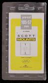 105 x 57 mm Scott Pre-Cut Plate Block Mounts (Scott 915 B/C)