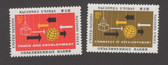 United Nations - Offices in New York, Scott Cat. No. 129 - 130, MNH