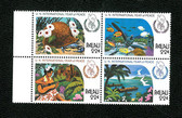 Palau, Scott Cat. No. 109-112 (Set), MNH