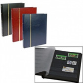 Safe Stockbooks - 32 Page Full-Size Black Traditional Stockbook