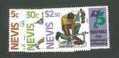 Nevis, Scott Cat. No. 0156-0158 (Set), MNH