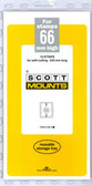 66 x 240 mm Scott Mount (Scott 940 B/C)