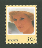 St. Kitts, Scott Cat. No. 437a , MNH