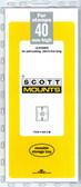 40 x 265 mm Scott Mount  (Scott 949 B/C)