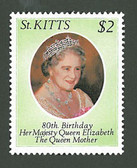 St. Kitts, Scott Cat. No. 044 , MNH