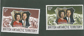 British Antarctica Territory, Scott Cat. No. 43-44 (Set), MNH