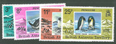 British Antarctica Territory, Scott Cat. No. 72-75 (Set), MNH