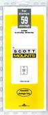 59 x 265 mm Scott Mount (Scott 951 B/C)