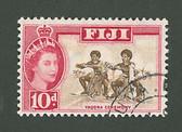 Fiji, Scott Cat No. 181, Used