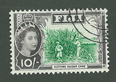Fiji, Scott Cat No. 188, Used
