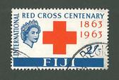 Fiji, Scott Cat No. 204, Used