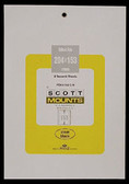 Scott Mounts Souvenir Sheets/Small Panes -  204 x 153 mm (962 B/C)
