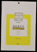 Scott Mounts Souvenir Sheets/Small Panes -  120 x 207 mm (965 B/C)