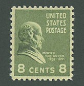 United States of America, Scott Cat. No. 0813 (Set), MNH