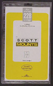 Scott Mounts Souvenir Sheets/Small Panes -  152 x 288 mm (1008 B/C)