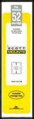 52 x 215 mm Scott Mount (Scott 935 B/C)