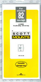 82 x 240 mm Scott Mount (Scott 944 B/C)